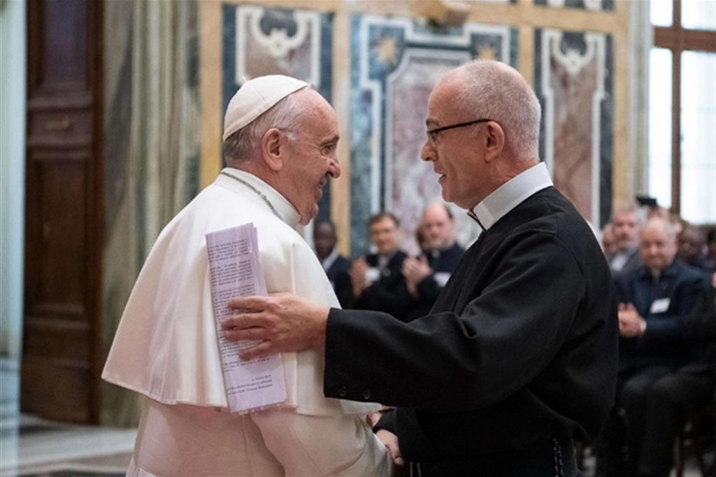 Udienza di Papa Francesco ai Docenti e Studenti dell'Accademia Alfonsiana
