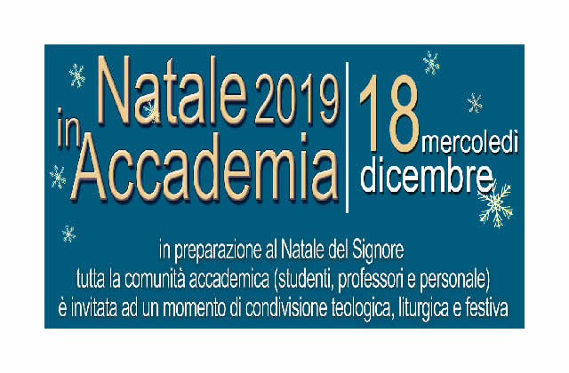 Natale in Accademia