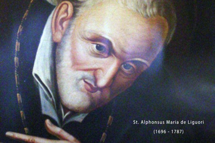 1° agosto 2020: Festa di sant' Alfonso Maria de Liguori