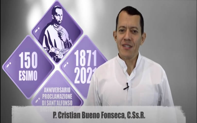 """Invitación: Jornada de estudio"""" 150° aniversario de San Alfonso Doctor Ecclesiae"""