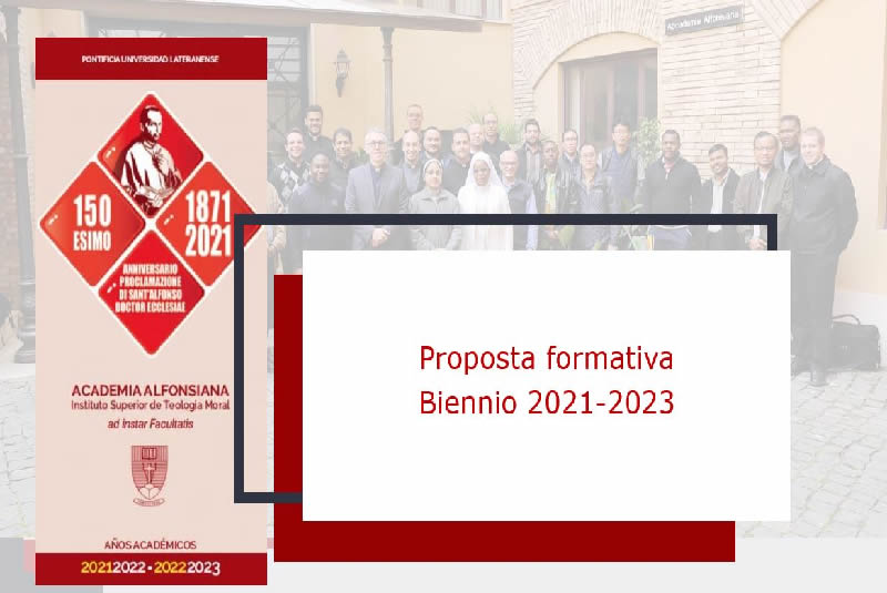 Programma biennio accademico 2021-2023