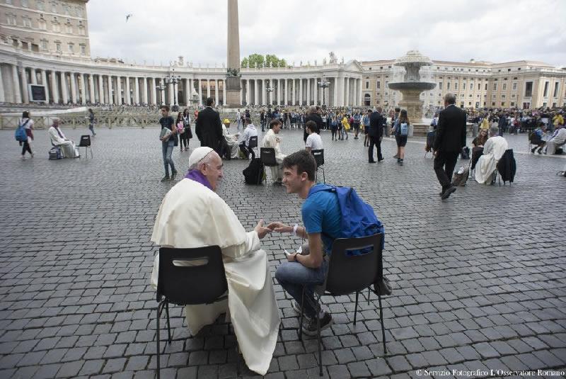 L'empatia di Papa Francesco