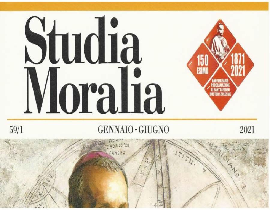 Studia Moralia: I° fascicolo 2021… online l'editoriale
