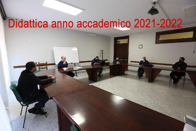 Didattica anno accademico 2021-2022
