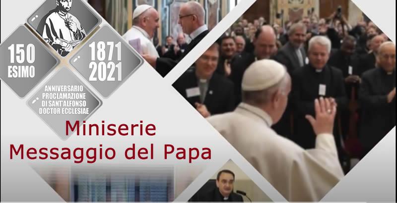 Miniserie dei docenti dell'Accademia Alfonsiana sul Messaggio del Papa