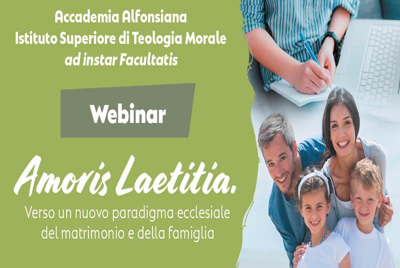 Webinar su Amoris Laetitia – martedì 16 novembre
